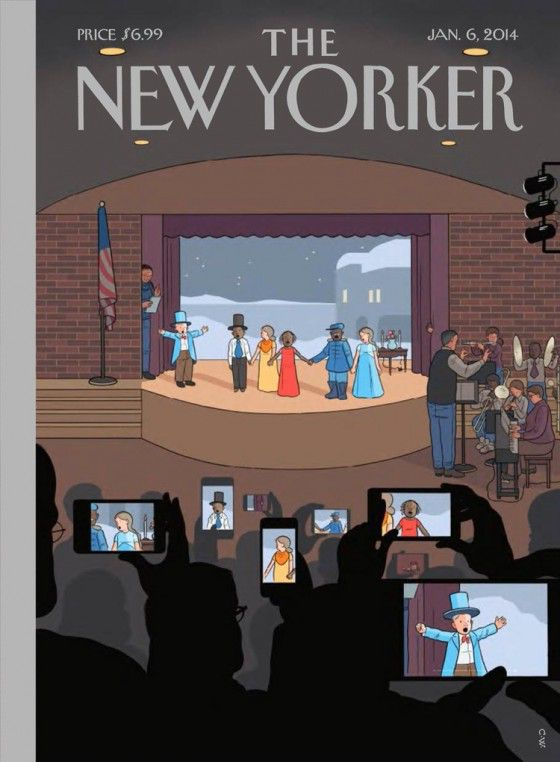 Chris Ware on the New Yorker