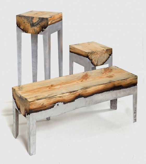 Wood Casting by Hilla Shamia