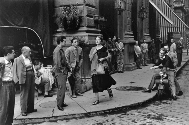 Ninalee Craig photographed by Ruth Orkin in Florence